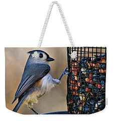 Tufted Stance Weekender Tote Bag by Lana Trussell