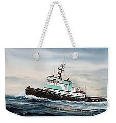 Tugboat Island Champion Weekender Tote Bag