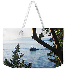Tugboat Passes Weekender Tote Bag