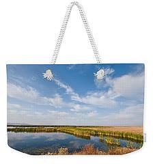 Tule Lake Marshland Weekender Tote Bag by Jeff Goulden