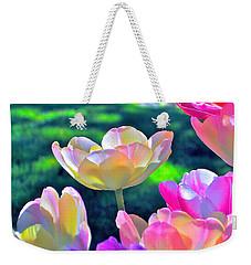 Tulip 21 Weekender Tote Bag by Pamela Cooper
