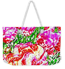 Tulip Infusion Weekender Tote Bag by Zafer Gurel