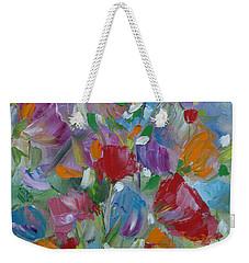 Tulip Symphony Weekender Tote Bag by Judith Rhue