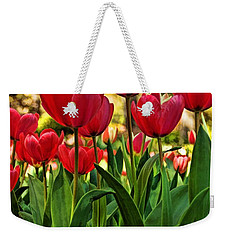 Tulip Time Weekender Tote Bag by Peggy Hughes