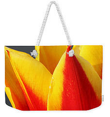 Weekender Tote Bag featuring the photograph Tulip by Todd Blanchard