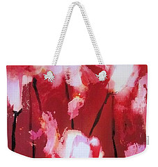 Tulip Twist Weekender Tote Bag by Sandra Strohschein