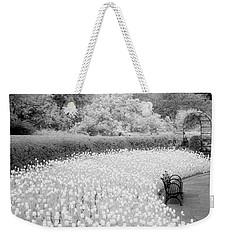 Tulips And Bench II Weekender Tote Bag