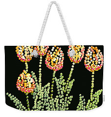 Tulips Bedazzled Weekender Tote Bag
