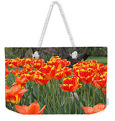 Tulips From Brooklyn Weekender Tote Bag