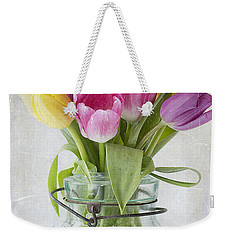 Tulips In A Jar Weekender Tote Bag