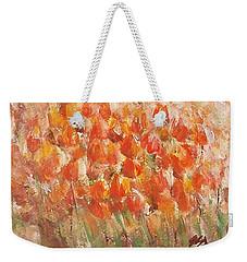 Tulips Weekender Tote Bag by Jane  See