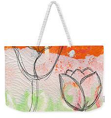 Tulips Weekender Tote Bag by Linda Woods
