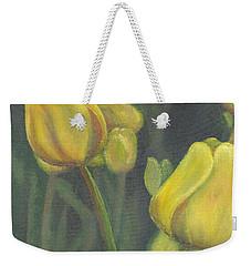 'tulips Stand' Weekender Tote Bag