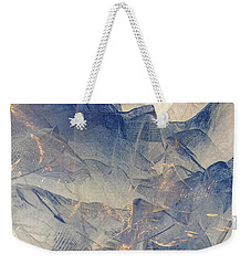 Tulle Mountains Weekender Tote Bag by Klara Acel