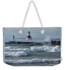 Tumultuous Lake Weekender Tote Bag