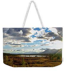 Tundra Burst Weekender Tote Bag