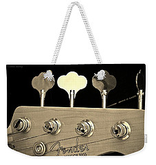 Fender Precision Bass Weekender Tote Bag by Chris Berry