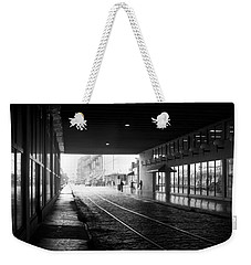 Weekender Tote Bag featuring the photograph Tunnel Reflections by Lynn Palmer