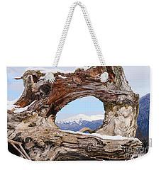 Tunnel Root Weekender Tote Bag
