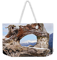 Tunnel Root Weekender Tote Bag by Stanza Widen