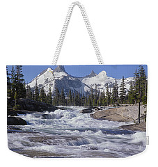 6m6539-tuolumne River  Weekender Tote Bag