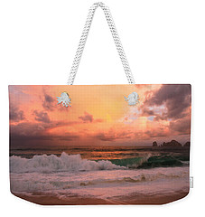 Weekender Tote Bag featuring the photograph Turbulence  by Eti Reid