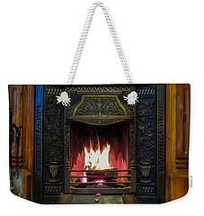 Turf Fire In Irish Cottage Weekender Tote Bag