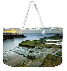 Turimetta Beach Sunrise Weekender Tote Bag