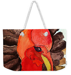 Turkey In Waiting Weekender Tote Bag
