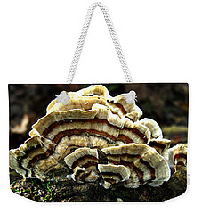 Turkey Tail Fungi Weekender Tote Bag