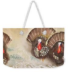 Turkeys Weekender Tote Bag