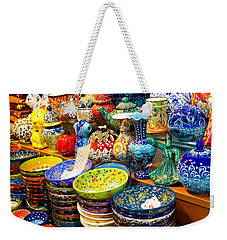 Turkish Ceramic Pottery 1 Weekender Tote Bag