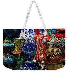 Turkish Ceramic Pottery 2 Weekender Tote Bag