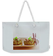 Turkish Style Lamb Burgers Weekender Tote Bag