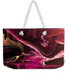Weekender Tote Bag featuring the photograph Turmoil by Mike Breau