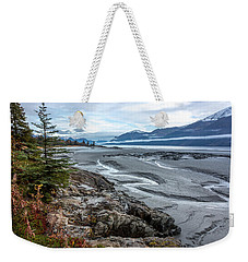 Turnagain Tide Flats Weekender Tote Bag