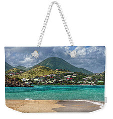 Weekender Tote Bag featuring the photograph Turquoise Paradise by Hanny Heim