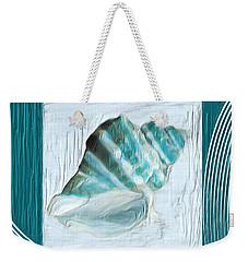 Turquoise Seashells Xxii Weekender Tote Bag