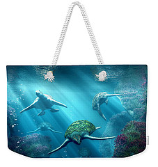 Turtle Alley Weekender Tote Bag