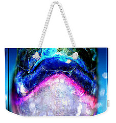 Weekender Tote Bag featuring the digital art Turtle by Daniel Janda