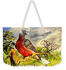 Turtle - Dove Weekender Tote Bag