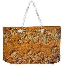 Turtle Tracks Weekender Tote Bag by Paul Rebmann