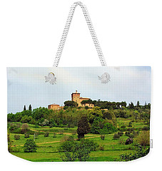 Tuscan Countryside Weekender Tote Bag