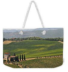 Tuscan Hillside Weekender Tote Bag