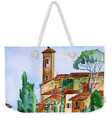 Tuscan Rooftops  -montecatini Alto Weekender Tote Bag by Trudi Doyle