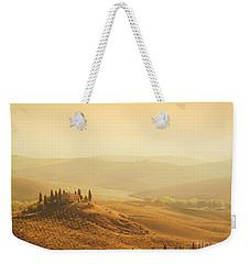 Tuscan Villa Sunrise Weekender Tote Bag by iPics Photography