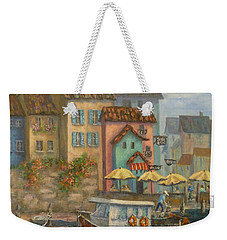 Tuscan Village Boat Paintings Weekender Tote Bag