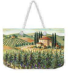 Tuscan Vineyard And Villa Weekender Tote Bag