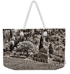 Tuscan Vinyard Weekender Tote Bag