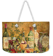 Tuscan Wine Treasures Weekender Tote Bag by Jean Plout